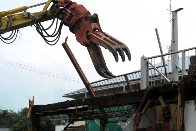 解体工事の騒音